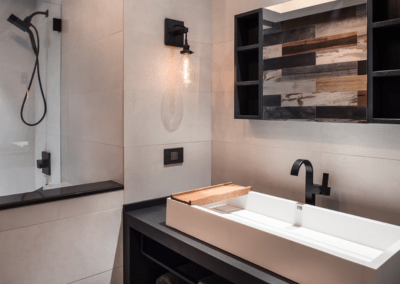 RECLAIMED modern Bathroom | House B